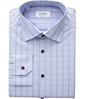 Contemporary Fit Windowpane Button Down Shirt
