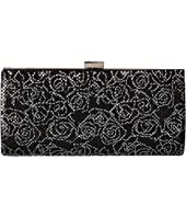 Jessica McClintock - Bailey Floral Mesh Clutch