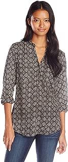 long sleeve rayon blouse