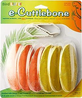 Penn-Plax Bird Life E2 Natural Cuttlebone, Mango and Banana (6 Bones Per Package), 6 Pack (BA658)