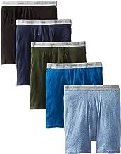 Hanes Men's 5-Pack Comfort Flex Exposed Waistband Boxer Brief