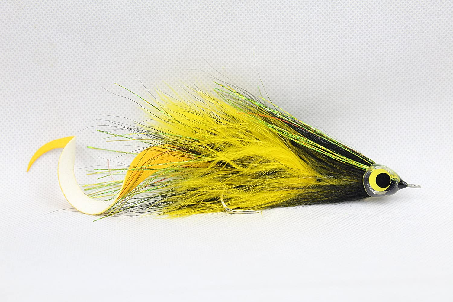 Haggerty Lures Curly Tailed Jointed Muskie Pike Fly Musky Fishing Lure
