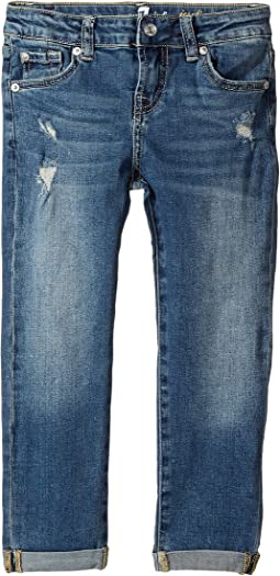 7 For All Mankind Kids - Denim Jeans in Windsor Pink Tint (Little Kids)