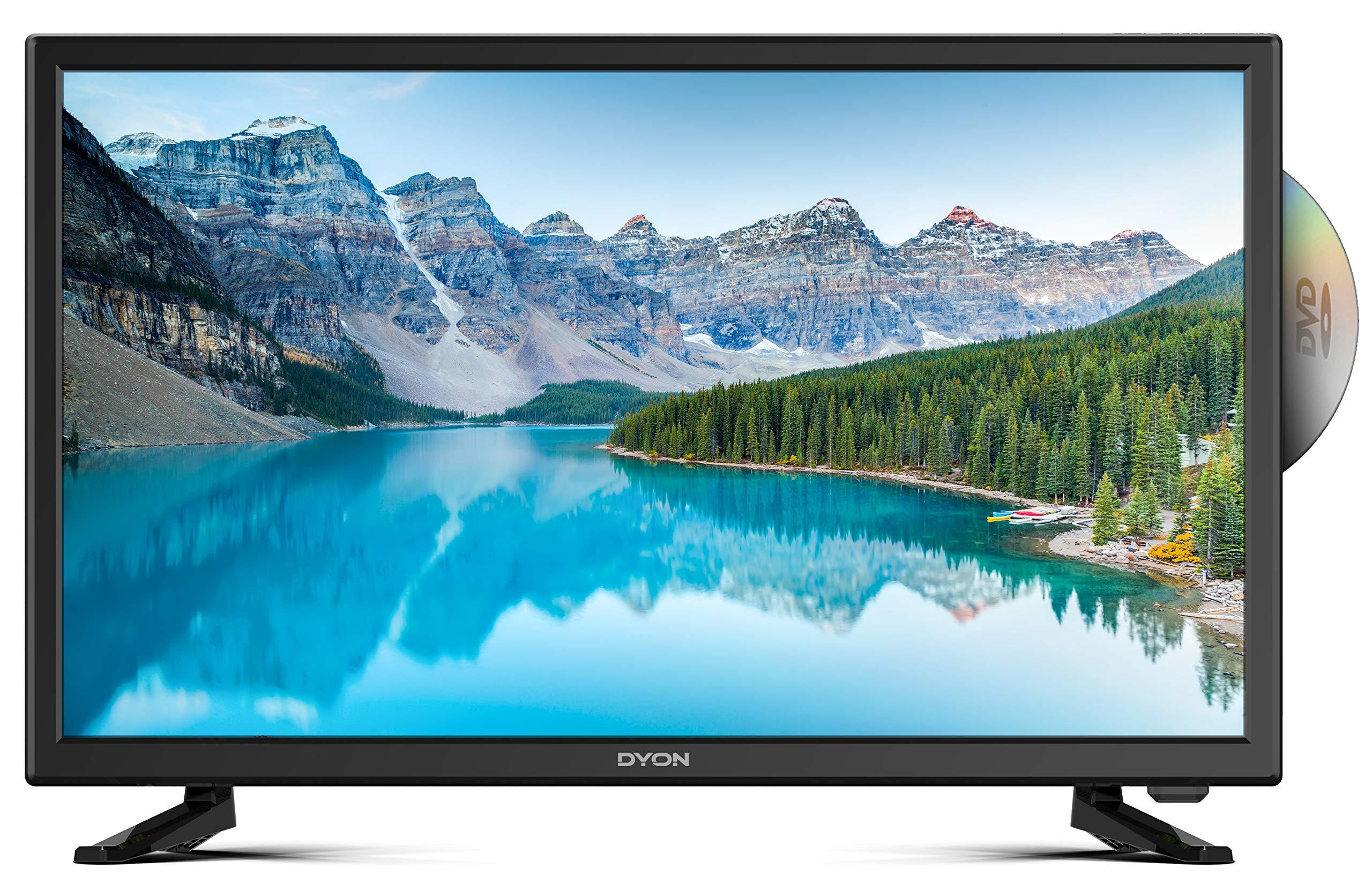 DYON Sigma 24 DVD LED-TV 60cm 23.6 Zoll EEK A+ (A++: Amazon.es: Electrónica