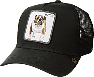Men's Butch Animal Farm Trucker Cap, Black, One Size