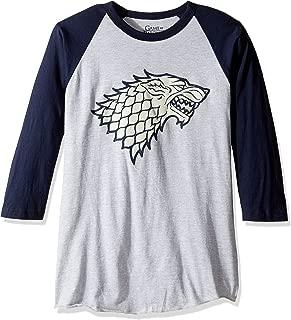 HBO Game Of Thrones Men's House of Stark Raglan T-Shirt