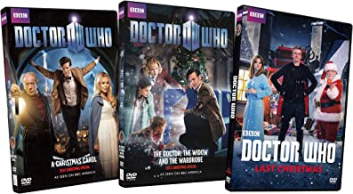 Doctor Who Christmas Collection (A Christmas Carol / The Doctor, The Widow and the wardrobe / Last Christmas) (3-Pack)
