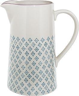 Pot à eau Patrizia, Bloomingville, Bleu pétrole/Lilas