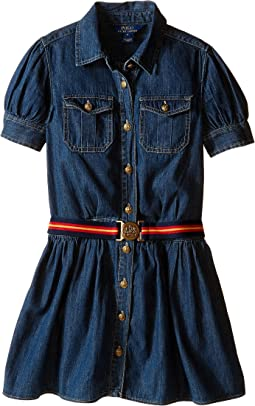 Polo Ralph Lauren Kids - Denim Shirtdress (Big Kids)