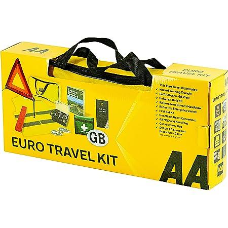 dans Un Sac zipp/é Plaque GB GADLANE Alcool Alcool NF Triangle davertissement Kit de Conduite Europe France