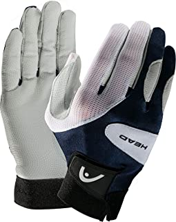 HEAD Leather Racquetball Glove - Renegade Extra Grip Breathable Mesh Glove - Large, Right Hand