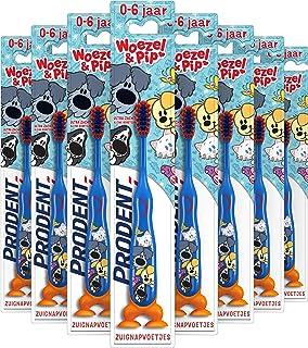 Prodent 0-6 jaar Woezel & Pip Tandenborstel - 12 stuks - Voordeelverpakking