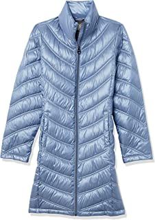 Chevron Quilted Packable Down Jacket (Regular and Plus)