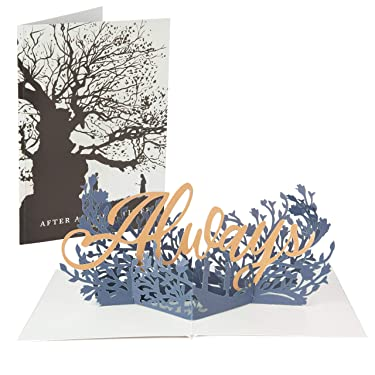 Harry Potter Pop-Up Greeting Card - After All This Time, Always - Love, Romance - Handcrafted Pop Up Card - 5 x 7