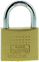 Burg-Wächter Hangslot, 6,5 Mm Beugeldikte, Kroederbescherming, 6 Sleutels, Boccia 450 40 6 Sb