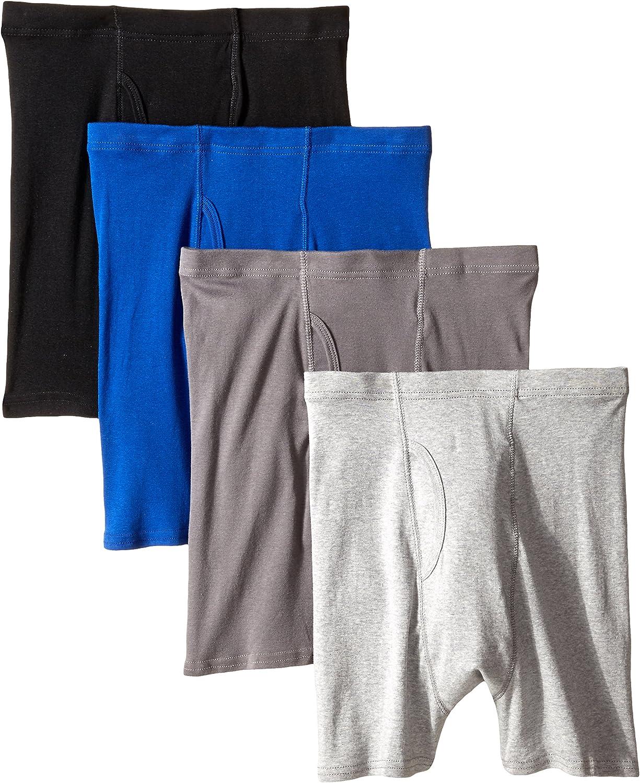 Hanes Mens 4 Pack Boxer Briefs-S,M,L,XL