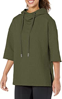 Alo Yoga Women's Falls SS Pullover Hoodie Fleece Jacket