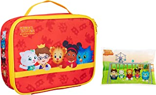 Daniel Tiger's Neighborhood - Insulated Durable Lunch Bag Sleeve Kit with Ice Pack (Daniel and Friends)