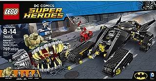 Kids 759-Piece LEGO DC Comics Super Heroes Batman Killer Croc Sewer Smash, Includes 4 Minifigures