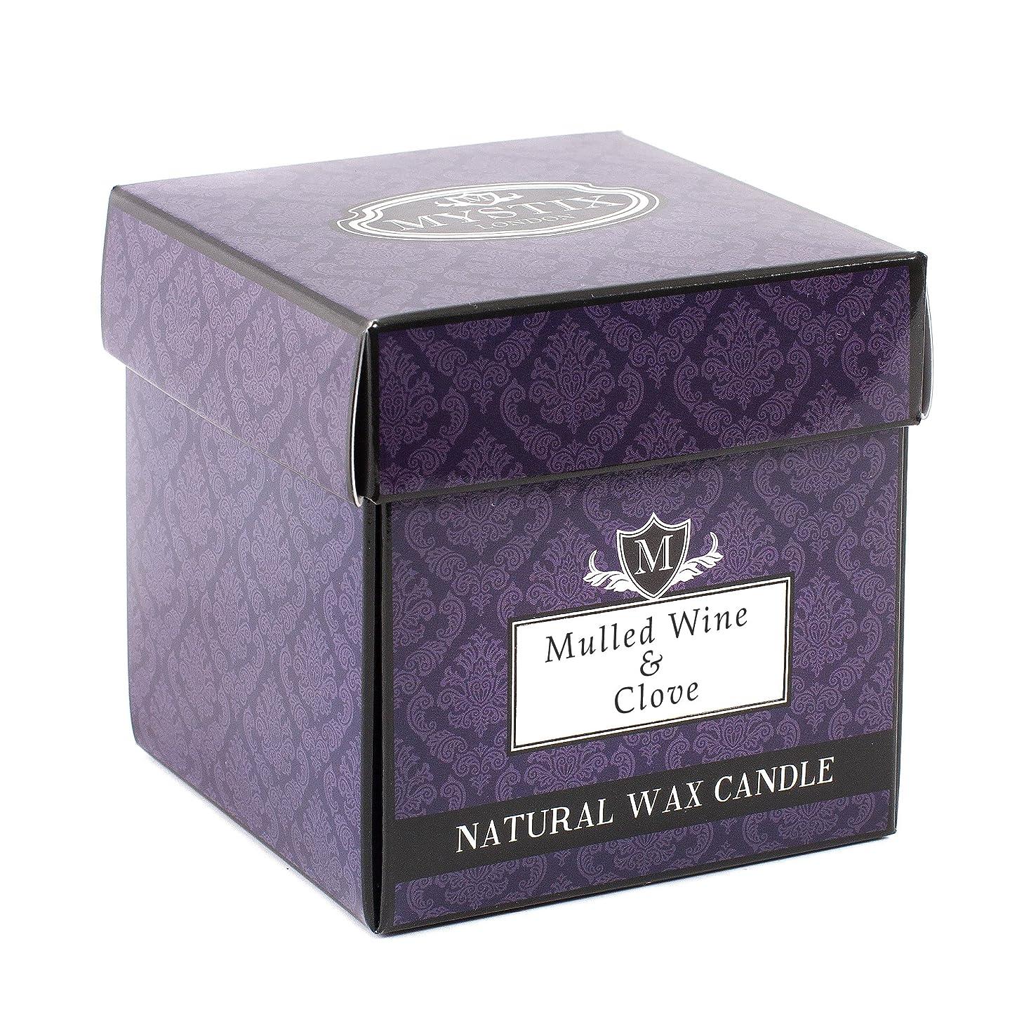 北東彼女の理想的Mystix London | Mulled Wine & Clove Scented Candle - Large