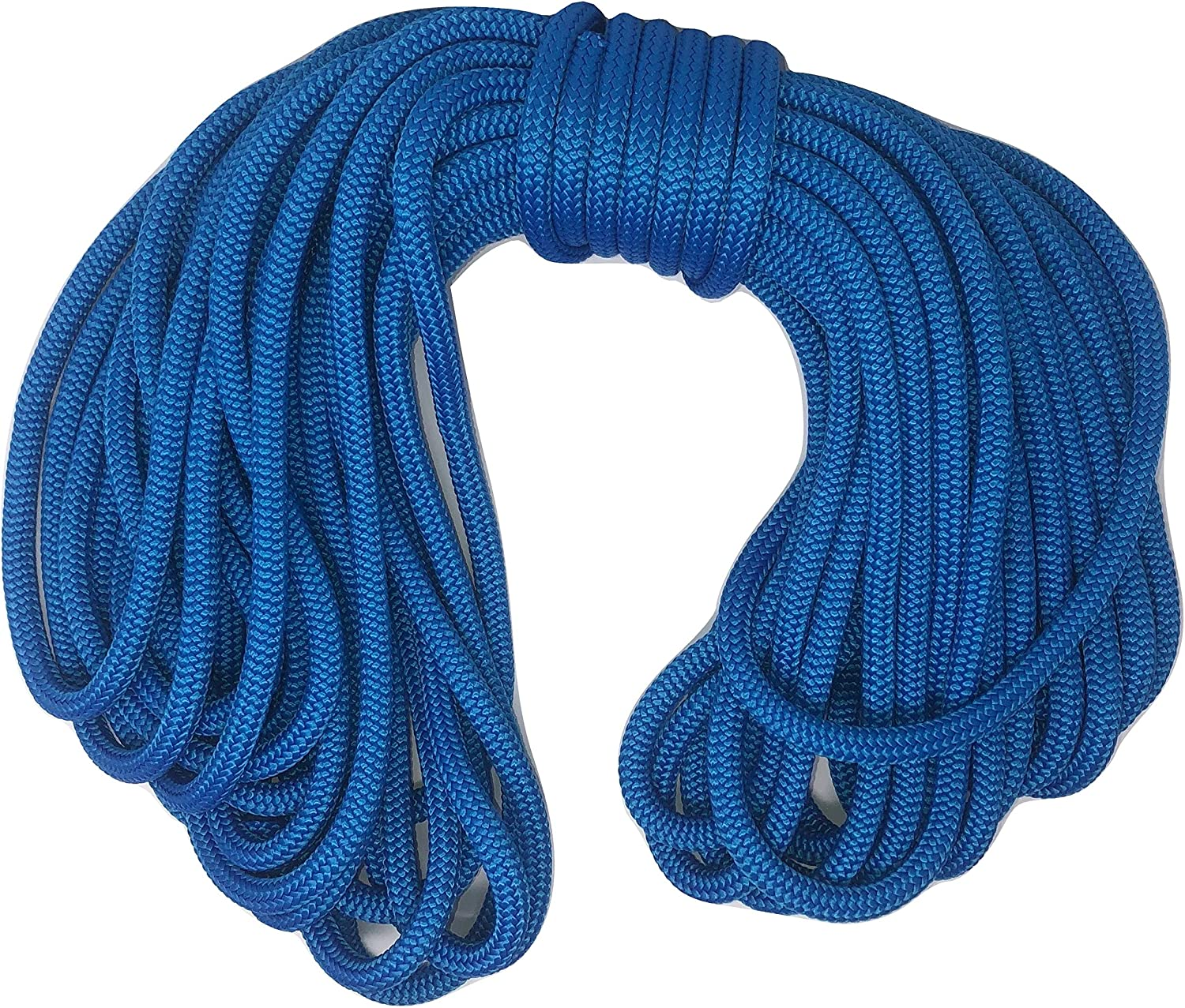 1 Low price 2 Inch by 150 Feet Nylon Rope Blue Braid Double 5% OFF