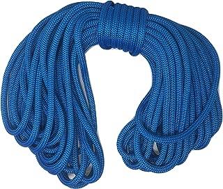 1/2 Inch by 150 Feet Blue Double Braid Nylon Rope