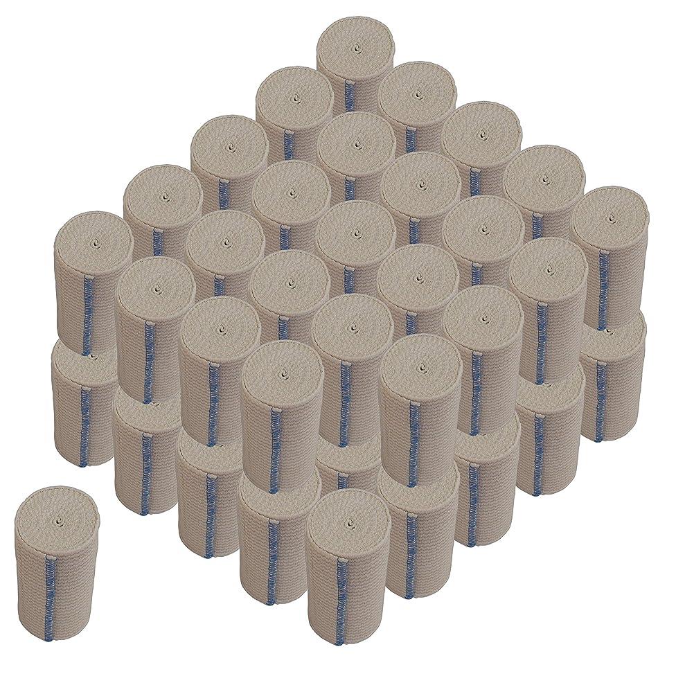 NexSkin Cotton Elastic Bandages w/Hook and Loop Closure, 4
