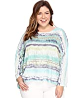 Nally & Millie - Plus Size High-Low Sweater