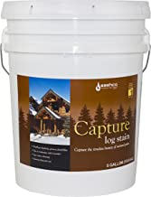 product image for Sashco Capture Capture Log Stain, 5 Gallon Pail, Chestnut (Pack of 1)