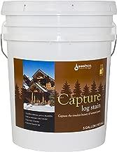 Sashco Capture Capture Log Stain, 5 Gallon Pail, Hazelnut (Pack of 1)