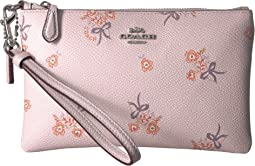 Small Wristlet in Floral Print