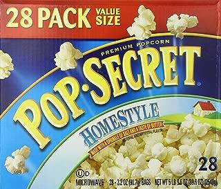 Pop Secret Popcorn, Homestyle, 28 Count Box
