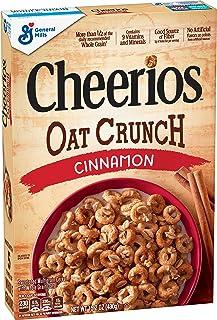 Cheerios Cinnamon Oat Crunch Breakfast Cereal, 15.2 oz