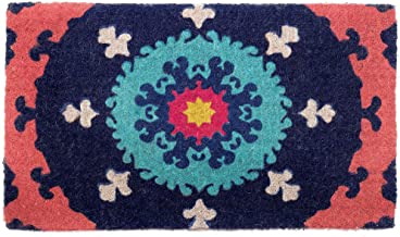 Suzanni 100% Coir Doormat | | Fab Habitat (45x75 cm)