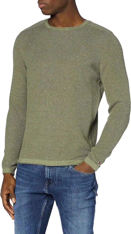 Tommy Hilfiger TJM Slub Sweater Su/éter para Hombre