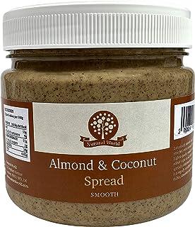 Nutural World - Pâte onctueuse à l'Amande et Noix de coco (1kg) Vainqueur des Great Taste Awards
