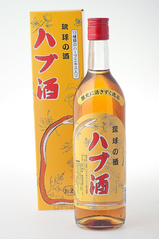 建設粘液気を散らす琉球の酒 ハブ酒 25度 720ml×6本 南都酒造 泡盛ベースでハブエキスと13種類のハーブをブレンドしたハブ原酒