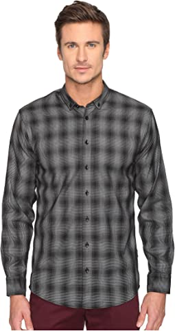 Kalyb Micro Houndstooth Button Down