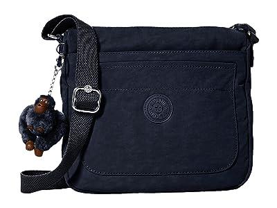 Kipling Sebastian Crossbody (True Blue) Cross Body Handbags