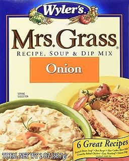 Mrs. Grass Onion Soup & Dip Mix 12 pack (2 oz Box)