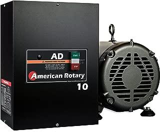 Rotary Phase Converter AD10 – 10 HP Digital Controls Heavy Duty HD CNC USA Made