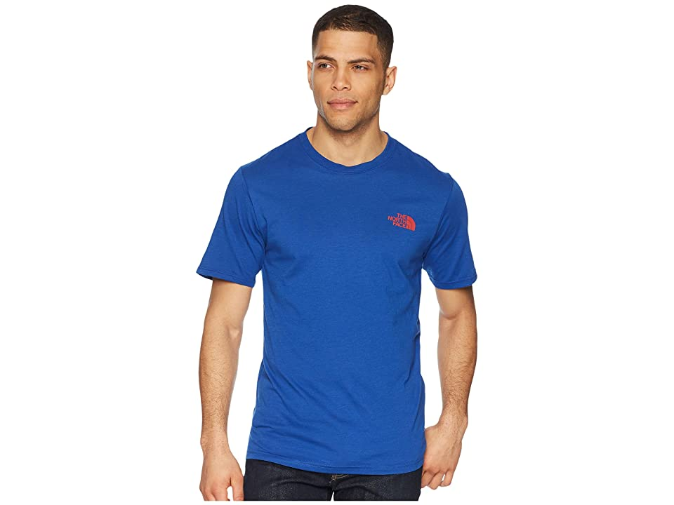 The North Face Bottle Source Red Box Tee (Brit Blue) Men