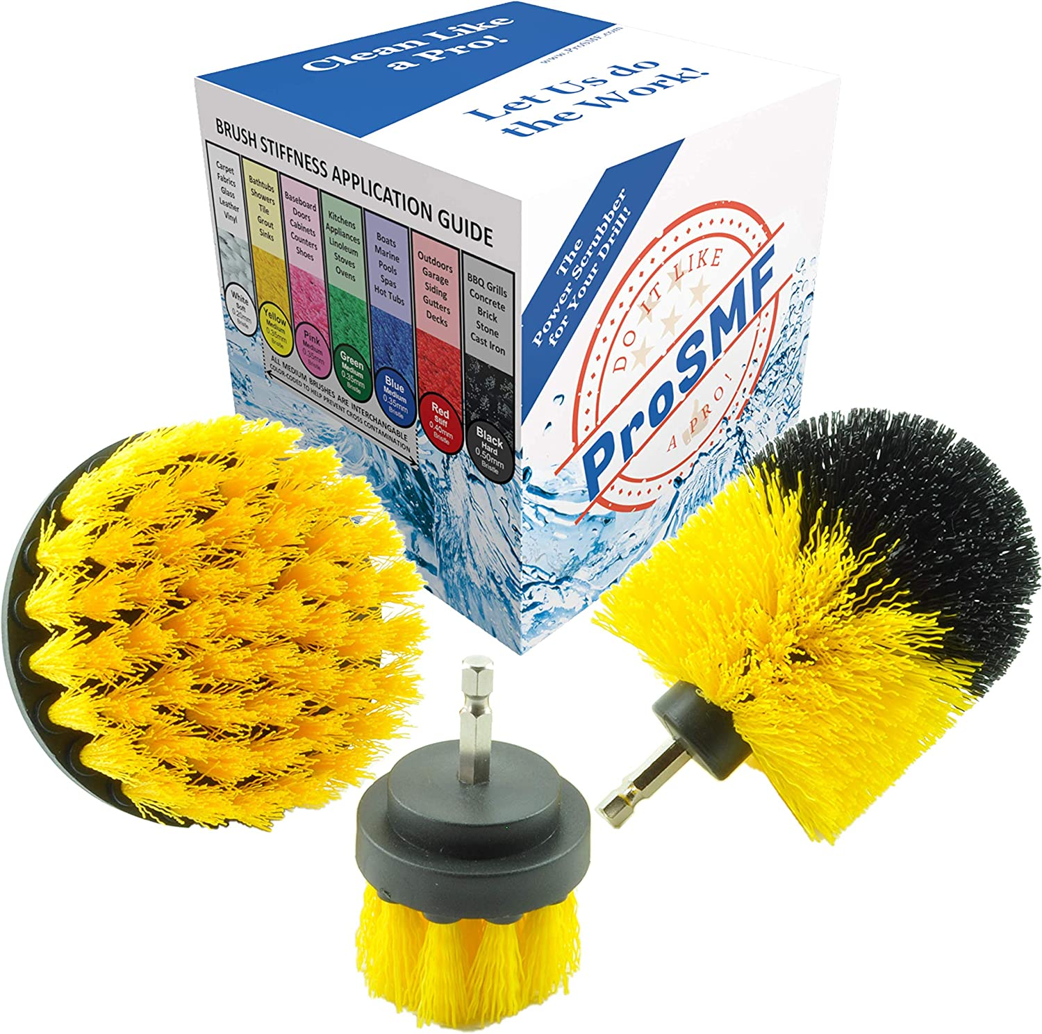 ProSMF New popularity Drill Brush - Ranking TOP17 All Power Scrubber Dril Cleaner Purpose