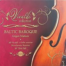 Vivaldi Collection 8 Manchester Sonatas RV 754 - 760 from Baltic Baroque / Grigori Maltizov