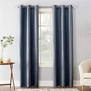 Sun Zero Cooper Thermal Insulated Room Darkening Grommet Curtain Panel, 40