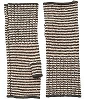 Echo Design Echo Soft Stretch Mini Stripe Fingerless Gloves