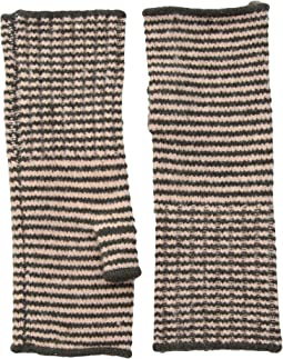 Echo Design - Echo Soft Stretch Mini Stripe Fingerless Gloves