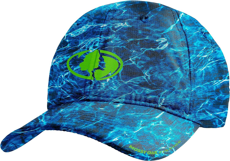 MISSION Cooling Performance Hat- Unisex Baseball Cap, Cools When Wet- Mossy Oak