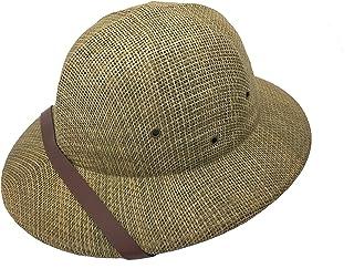 the latest da24e 0a420 kainozoic Outdoor Safari Straw Pith Helmet Costume Hat Bike Helmet