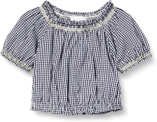 Brums Camicia Crepe Stampa All Over Blusa Bimba